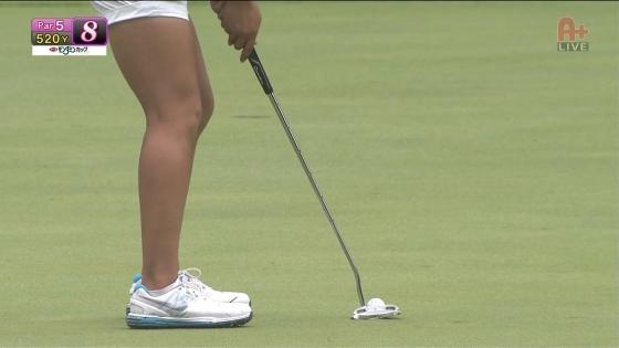 女子プロゴルフ パンチラや太ももに目が行くキャプ 画像63枚 7