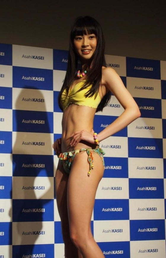 山下永夏 Bカップ水着姿が可愛いPON!のお天気お姉さん 画像24枚 14