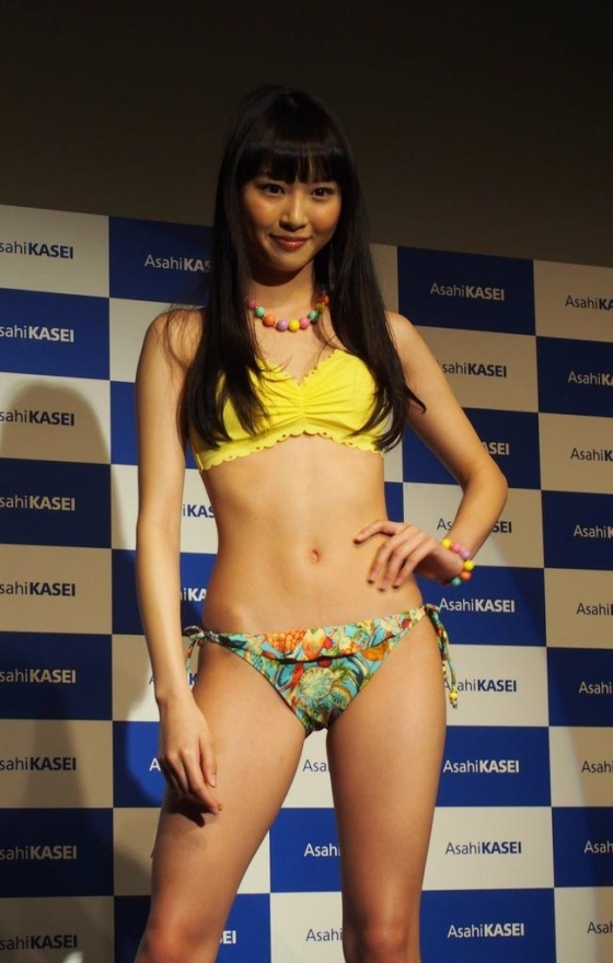 山下永夏 Bカップ水着姿が可愛いPON!のお天気お姉さん 画像24枚 16