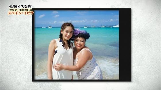 筧美和子 スペイン旅ロケで披露したHカップ谷間と腋キャプ 画像25枚 15