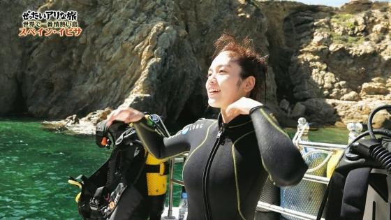 筧美和子 スペイン旅ロケで披露したHカップ谷間と腋キャプ 画像25枚 24