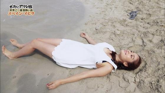 筧美和子 スペイン旅ロケで披露したHカップ谷間と腋キャプ 画像25枚 7