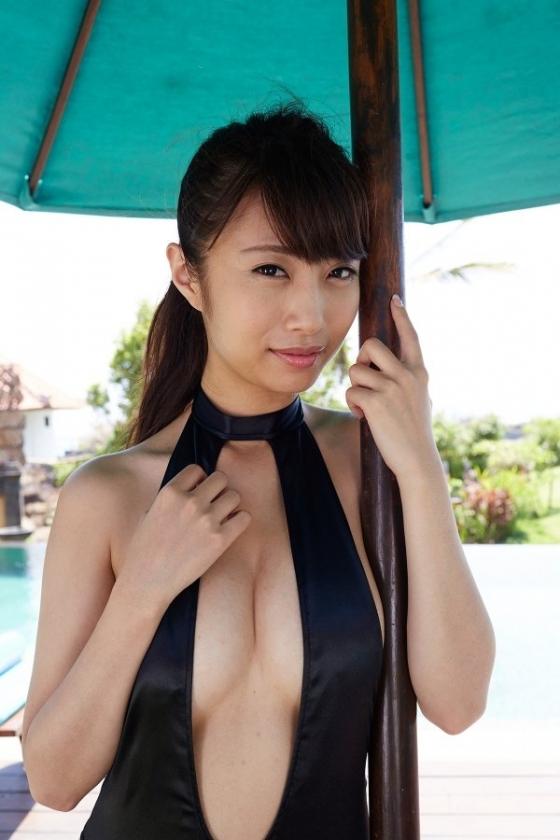 古川真奈美 DVDいけない恋のFカップ谷間と美尻キャプ 画像64枚 9