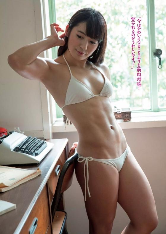 才木玲佳 週プレの筋肉アイドル水着グラビア 画像26枚 1