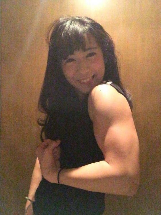 才木玲佳 週プレの筋肉アイドル水着グラビア 画像26枚 21