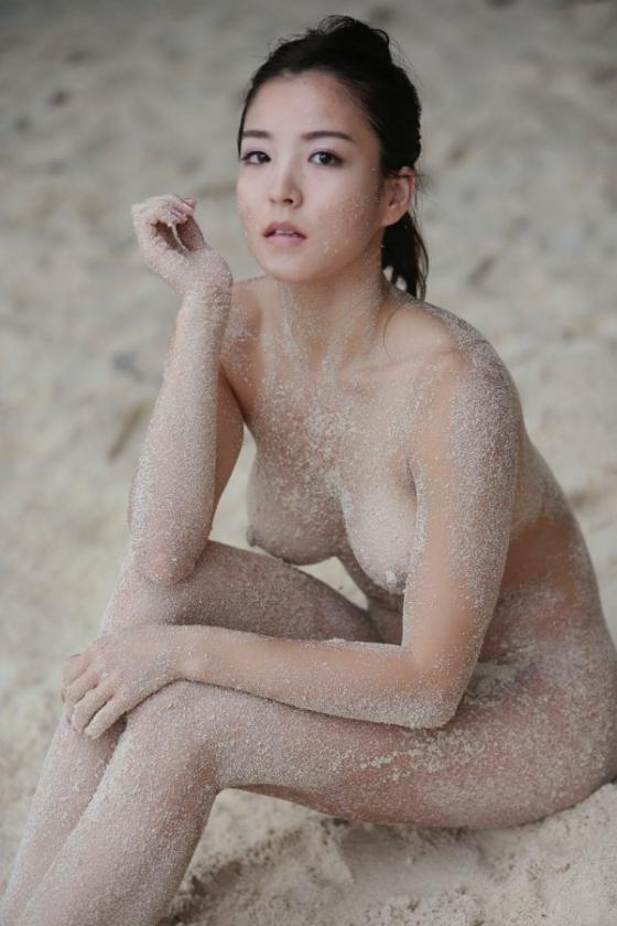 和泉里沙 新体操五輪代表選手のパイパン股間MAX開脚ヌード 画像24枚 22