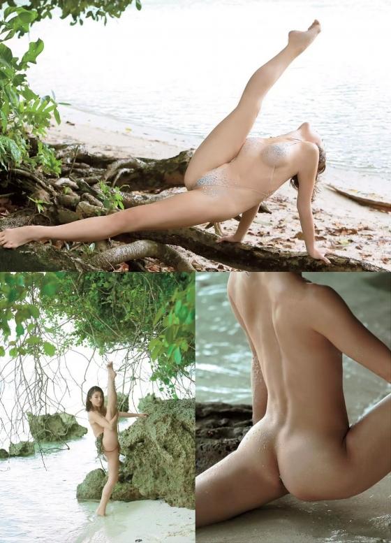 和泉里沙 新体操五輪代表選手のパイパン股間MAX開脚ヌード 画像24枚 9