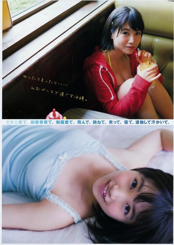 朝長美桜 写真集日向ヤンマガ先行水着グラビア 画像25枚 10