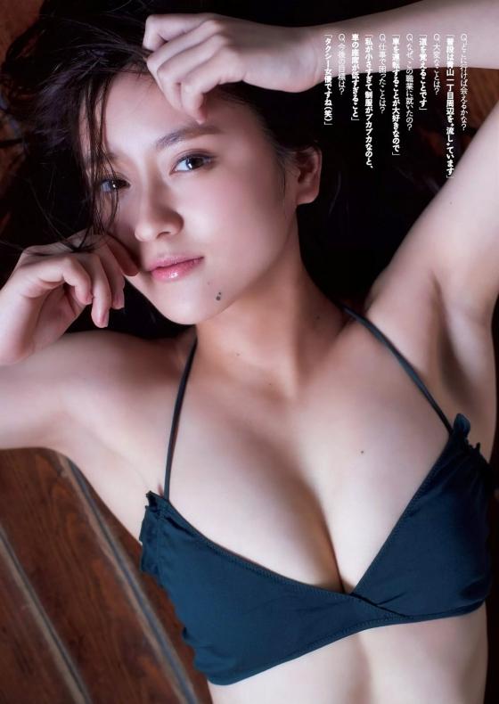 生田佳那 美人すぎるタクシードライバーの週プレEカップ水着グラビア 画像26枚 1