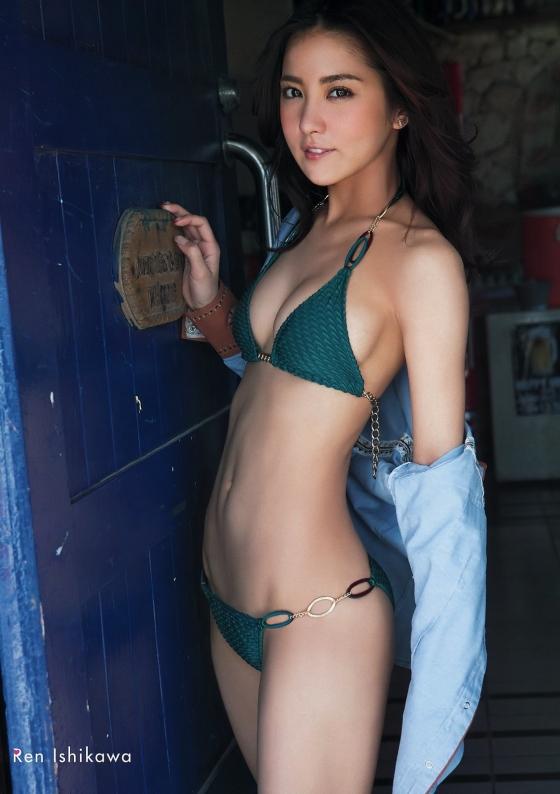 石川恋 スピリッツのDカップ谷間と美尻食い込みグラビア 画像47枚 44