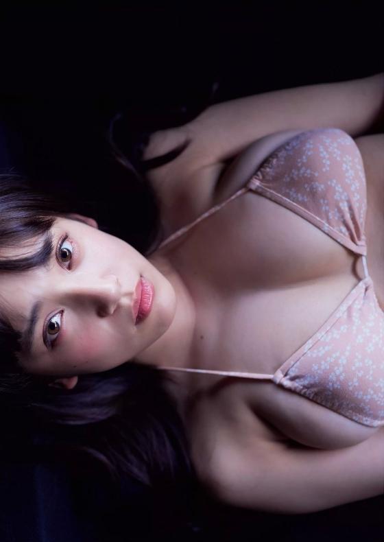 都丸紗也華 週プレの最新Fカップ水着むっちりグラビア 画像31枚 23