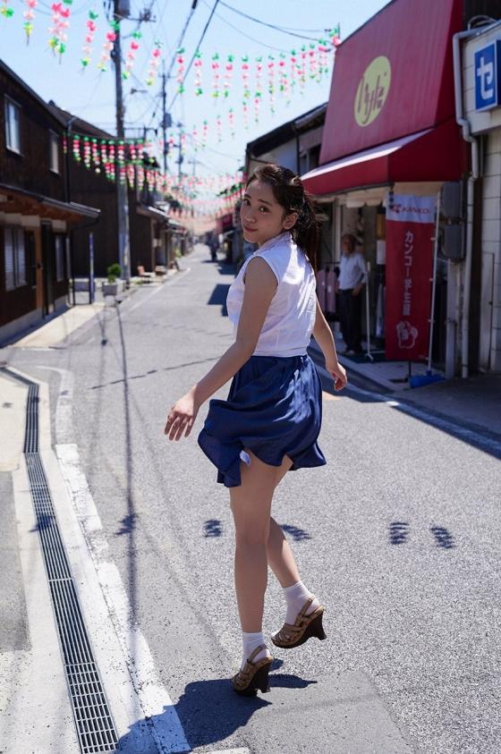 都丸紗也華 週プレの最新Fカップ水着むっちりグラビア 画像31枚 28