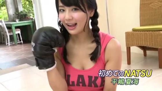 平嶋夏海 DVD初めてのNATSUのFカップ谷間キャプ 画像34枚 25