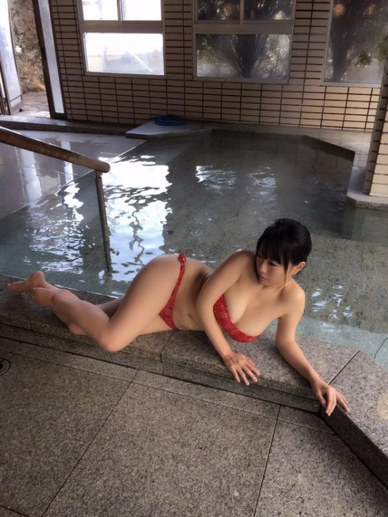 水樹たま ぽちゃプニ2のJカップ+腹肉+巨尻キャプ 画像59枚 59