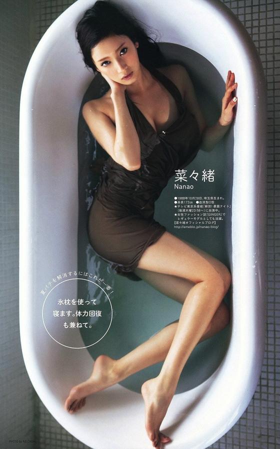 菜々緒 インスタの全裸温泉入浴ヌード写真 画像18枚 13