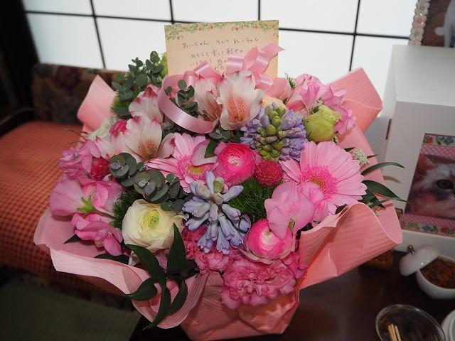 kittymamaさんからのお花