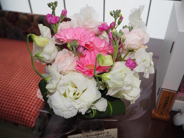にゃんこが一番さんからの お花
