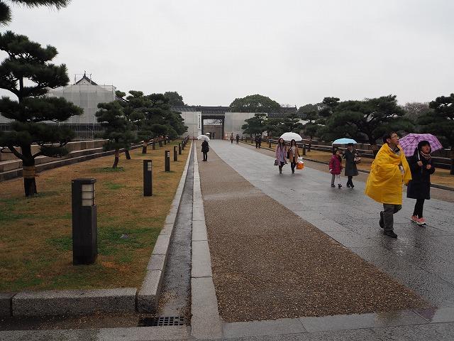 大阪城入口