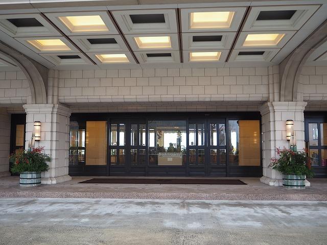 ホテルオークラハウステンボス正面玄関