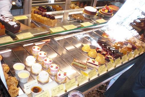 アグネスホテル ケーキ