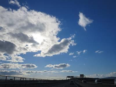 京滋バイパスの風景