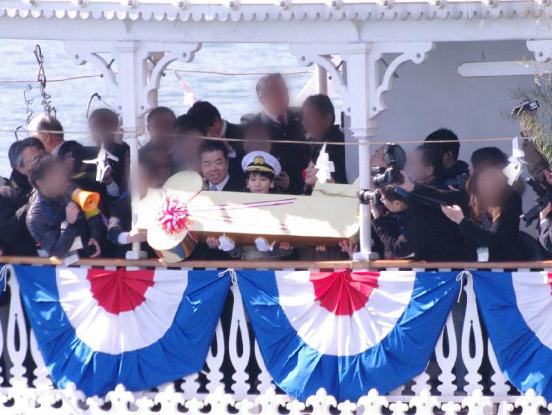 1日船長は、吉岡里帆さん