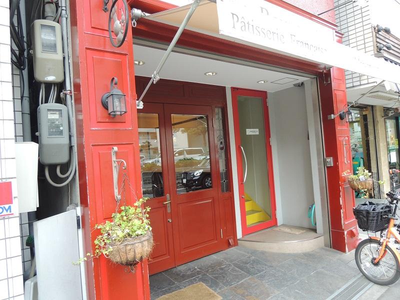 パティスリー ラヴィルリエ お店の入り口
