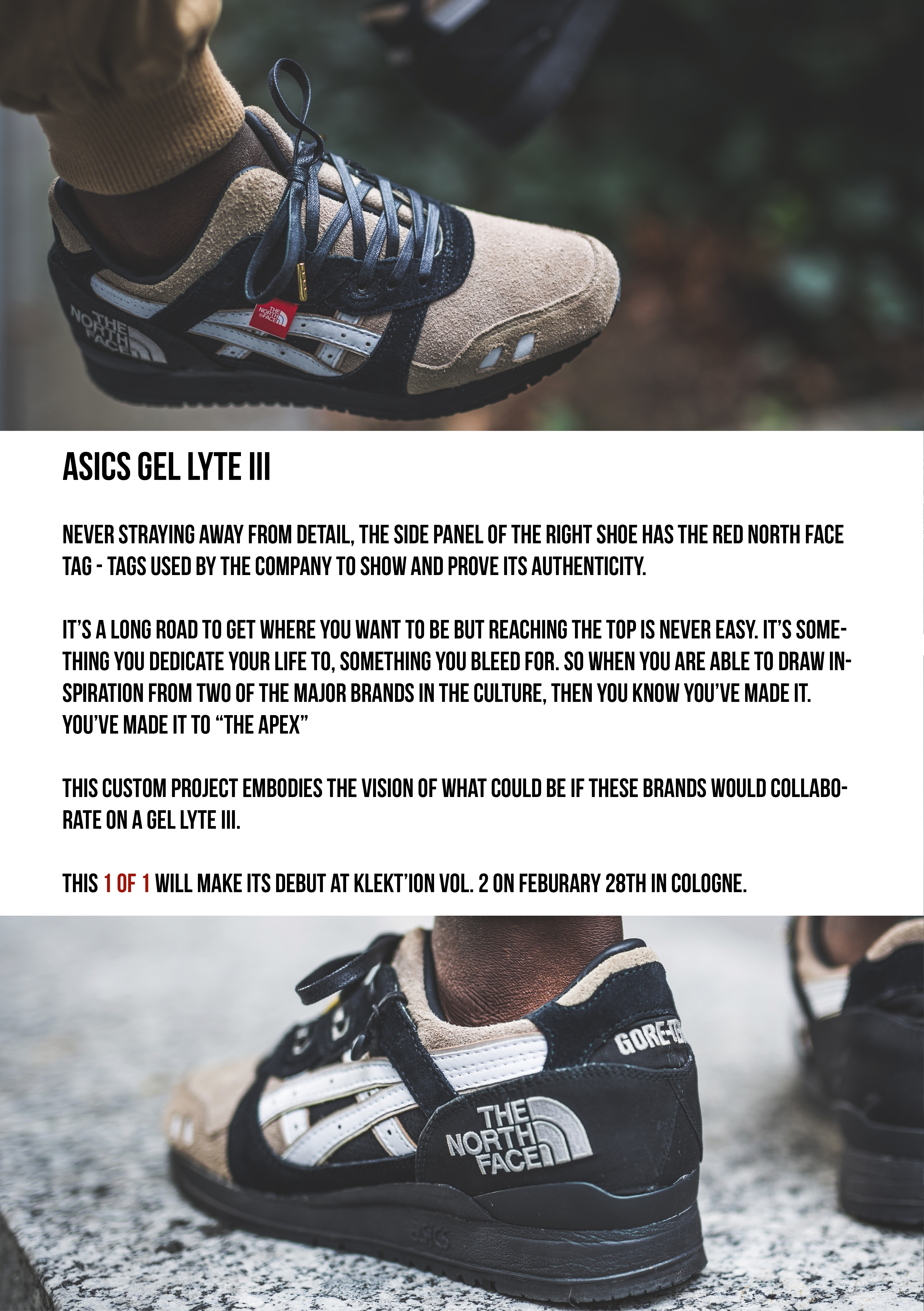 Asics Gel Lyte 3 North Face