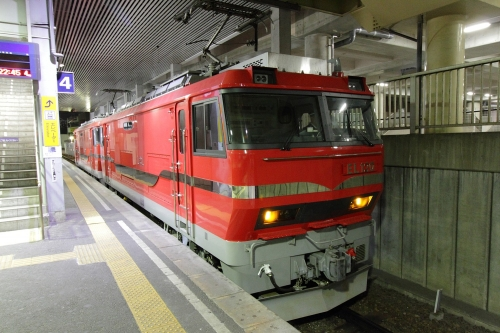 名鉄EL120 in 前後駅