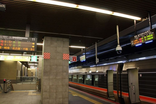 大阪駅 ワイドビューしなの