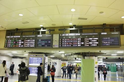 北海道新幹線開業直前 東京駅