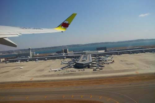 離陸時 中部国際空港