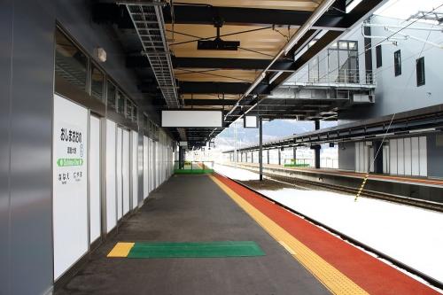 渡島大野駅 在来線ホーム