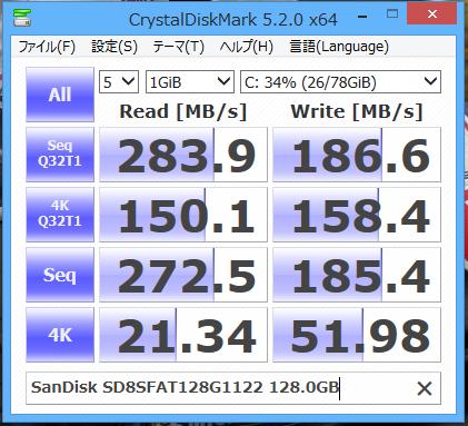 SanDisk SD8SFAT128G1122