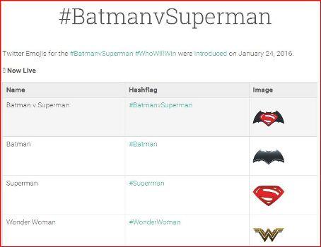 20160305ハッシュフラッグバットマン対スーパーマンの画像
