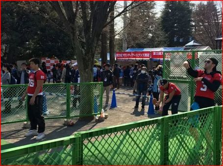 20160328アメフトーークキャッチボールコーナーの画像