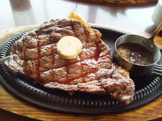 アンガス牛リブロースステーキ