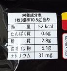 カントリーマアム 4種のチーズ×ブラックペッパー 成分