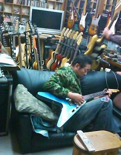 流れ星みたいなギター