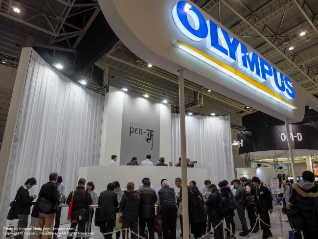 CP+2016 OLYMPUSブース タッチアンドトライ・コーナー