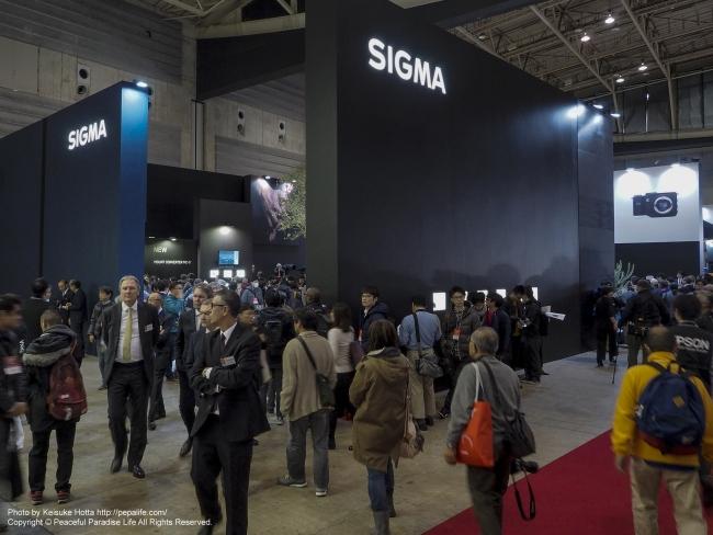 CP+2016 SIGMAブース