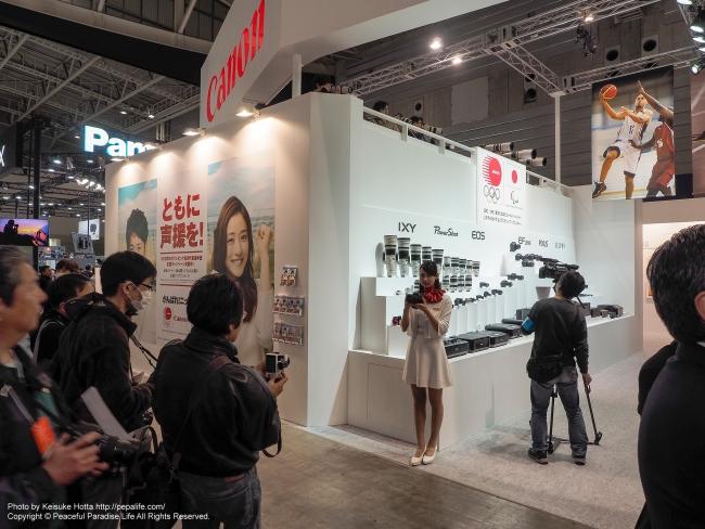 CP+2016 Canonブース