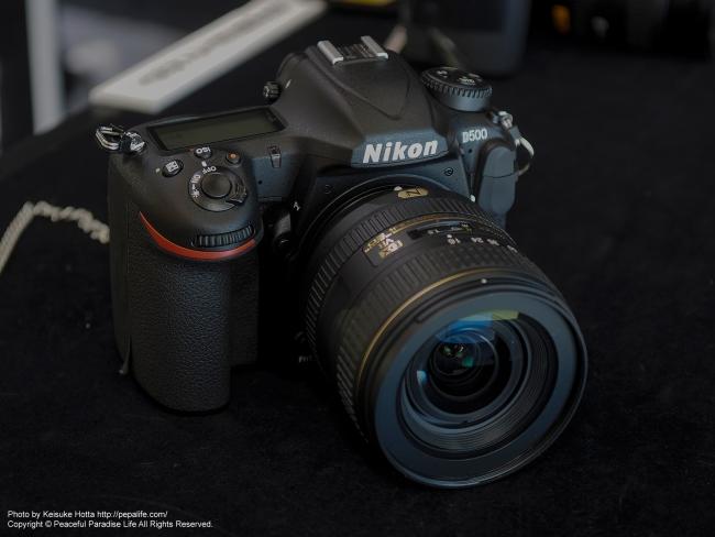 CP+2016 Nikonブース D500