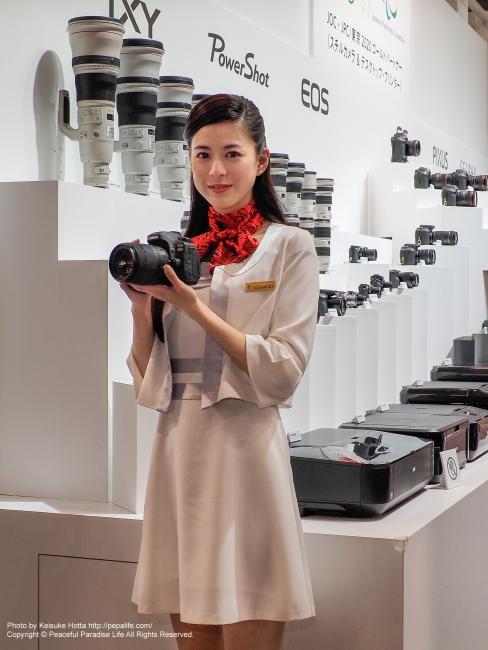 CP+2016 Canonブース イベントコンパニオンさん