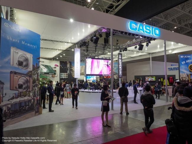CP+2016 CASIOブース