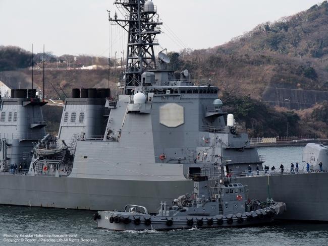 護衛艦きりしま(JS Kirishima, DDG-174) ズームイン