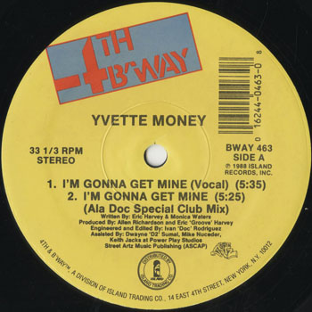 HH_YVETTE MONEY_IM GONNA GET MINE_201603