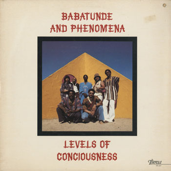 JZ_BABATUNDE AND PHENOMENA_LEVELS OF CONCIOUSNESS_201603