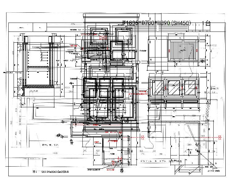 家具図面1