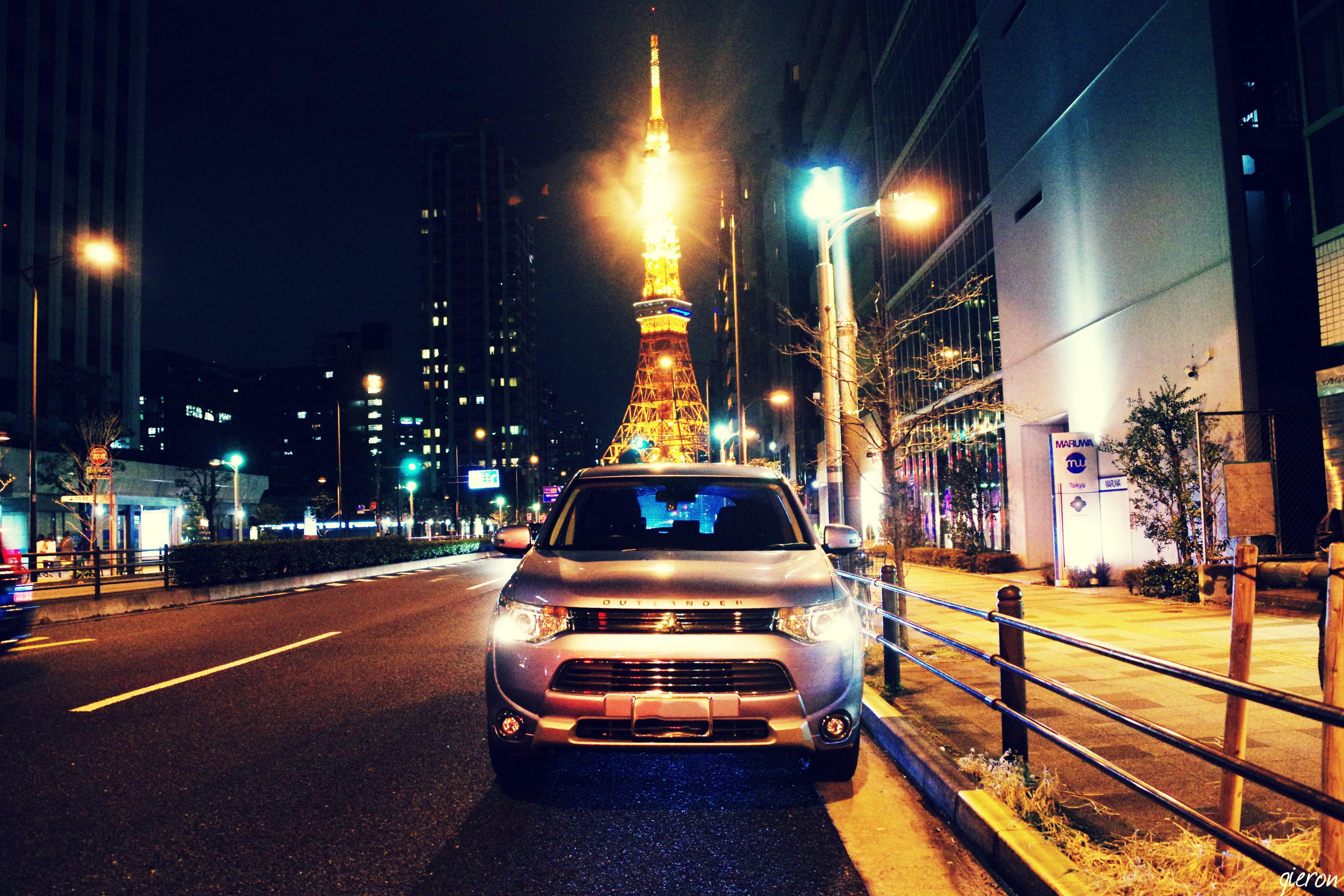 クルマの撮影スポット 三田一丁目 東京タワー